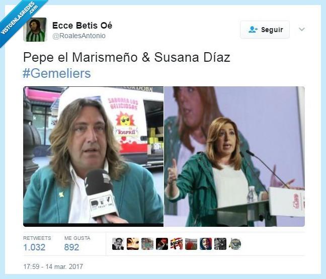 parecidos razonables,Pepe el Marismeño,Susana Díaz