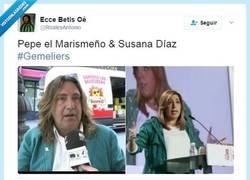 Enlace a Pepe el Marismeño y Susana Díaz, separados al nacer por @Roalesantonio