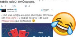 Enlace a El ahorcado de Nescafé que ha revolucionado a Twitter y ha puesto al personal caliente de más