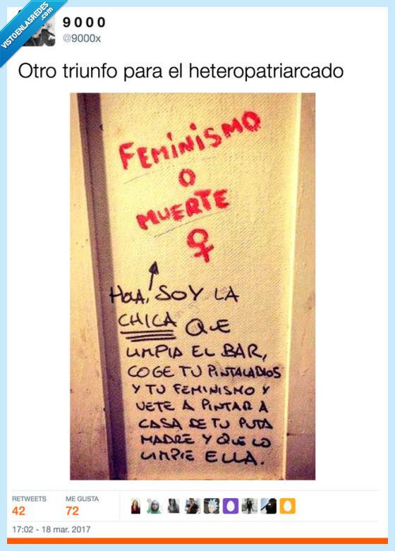 feminismo,reivindicar,suciedad