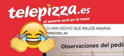 Enlace a Telepizza sabe meterse a los clientes en el bolsillo después de hacer cosas tan guays como esta