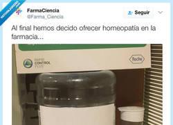 Enlace a HOMEOPATÍA: 3cl de H2O por 40 euros por @Farma_Ciencia
