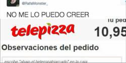 Enlace a Telepizza se vuelve aliado feminista y envía estos mensajes en sus cajas por @RafaMonster_