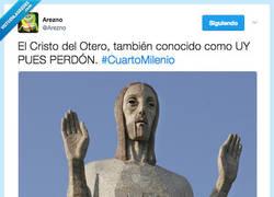 Enlace a El Cristo transformado en Meme por @Arezno