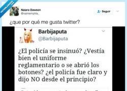 Enlace a ¿Y si el policía hubiera sido una mujer? Seguro que le habrían todas estas preguntas por @naimemphis