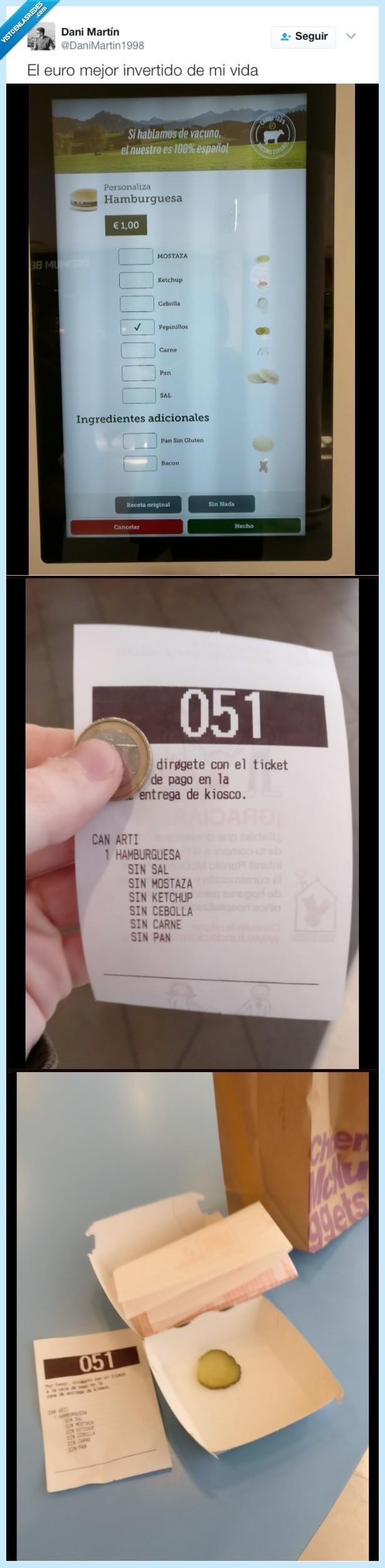 bullshit,euro,mcdonalds,pepinillo,vegano
