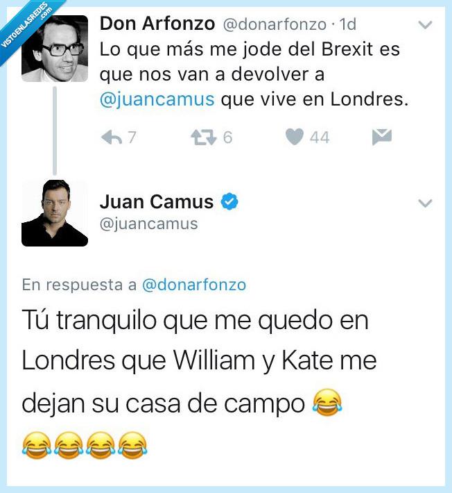 Juan Camus,londres,respuesta,zass