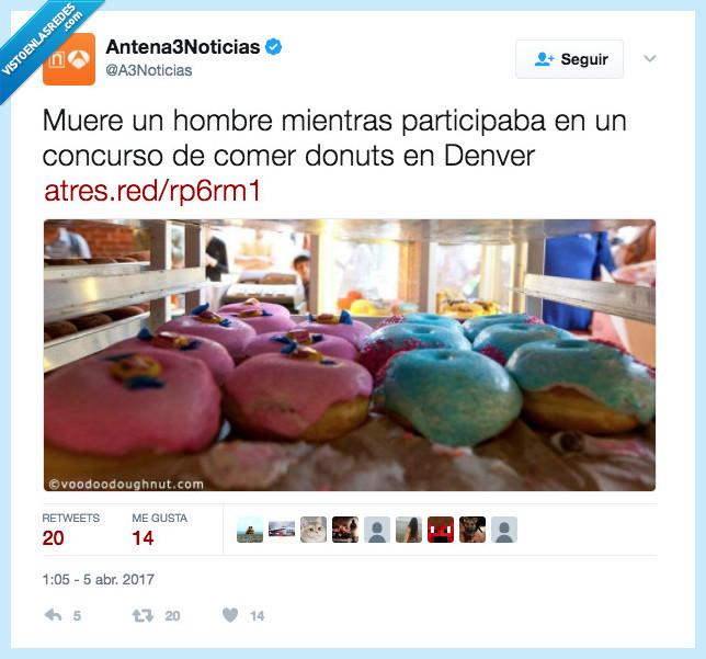 Donuts,muerte,redonda
