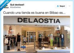 Enlace a La principal cadena de tiendas en Bilbao, por @Qudesfase