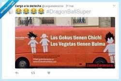 Enlace a Los Gokus tienen Chichi y los Vegetas tienen Bulma, por @cargoaladerecha