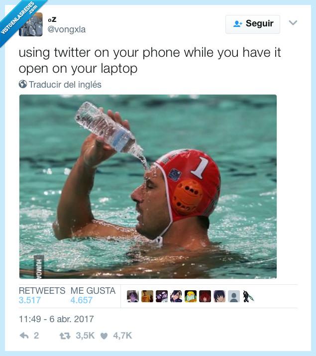 mientras,ordenador,twitter,usar