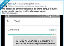 Enlace a Le prohíben alquilar su vivienda por Airbnb tras enviar estos mensajes racistas a una mujer Asiatica