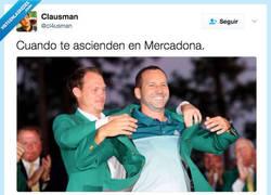 Enlace a Si me aseguran el sueldo de Sergio García me dejo la carrera y me voy de cajero, por @cl4usman
