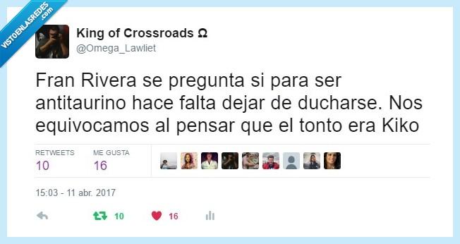 antitaurino,Fran Rivera,Kiko Rivera,Torero