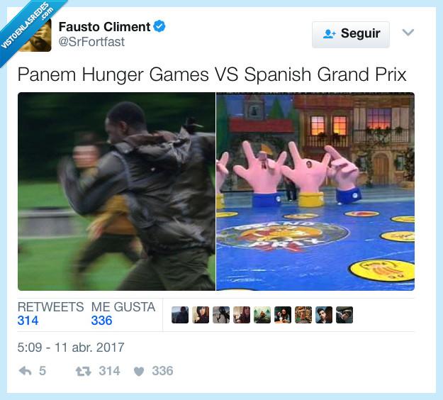 españa,grand prix,juegos del hambre