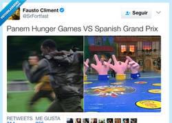 Enlace a Si los Juegos del hambre hubieran sido españoles..., por @SrFortfast