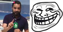 Enlace a OJO CUIDADO: La trolleada que sufre en directo este reportero es ÉPICA, por @Kora_FFF