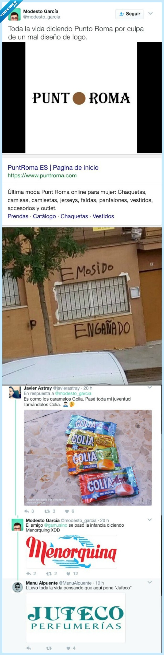 engaño,estafa,marcas