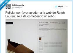 Enlace a VERGONZOSO: Ralph Lauren pide casi 300€ por esto que encuentras en los mercadillos, @Xabibenput