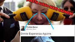 Enlace a Esperanza Aguirre ha dimitido y Twitter ha respondido de una manera GENIAL
