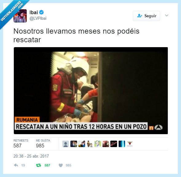 bombero,pozo,rescatar