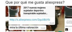 Enlace a La valoración de Aliexpress más WTF? que verás en tu vida, por @CristinaTooral