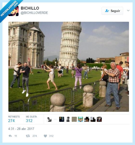 facha,torre Pisa,viaje