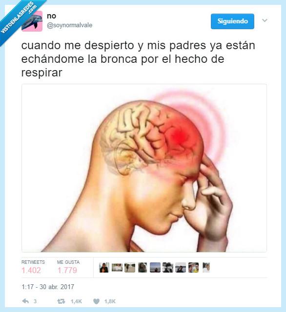 dolor de cabeza,padres