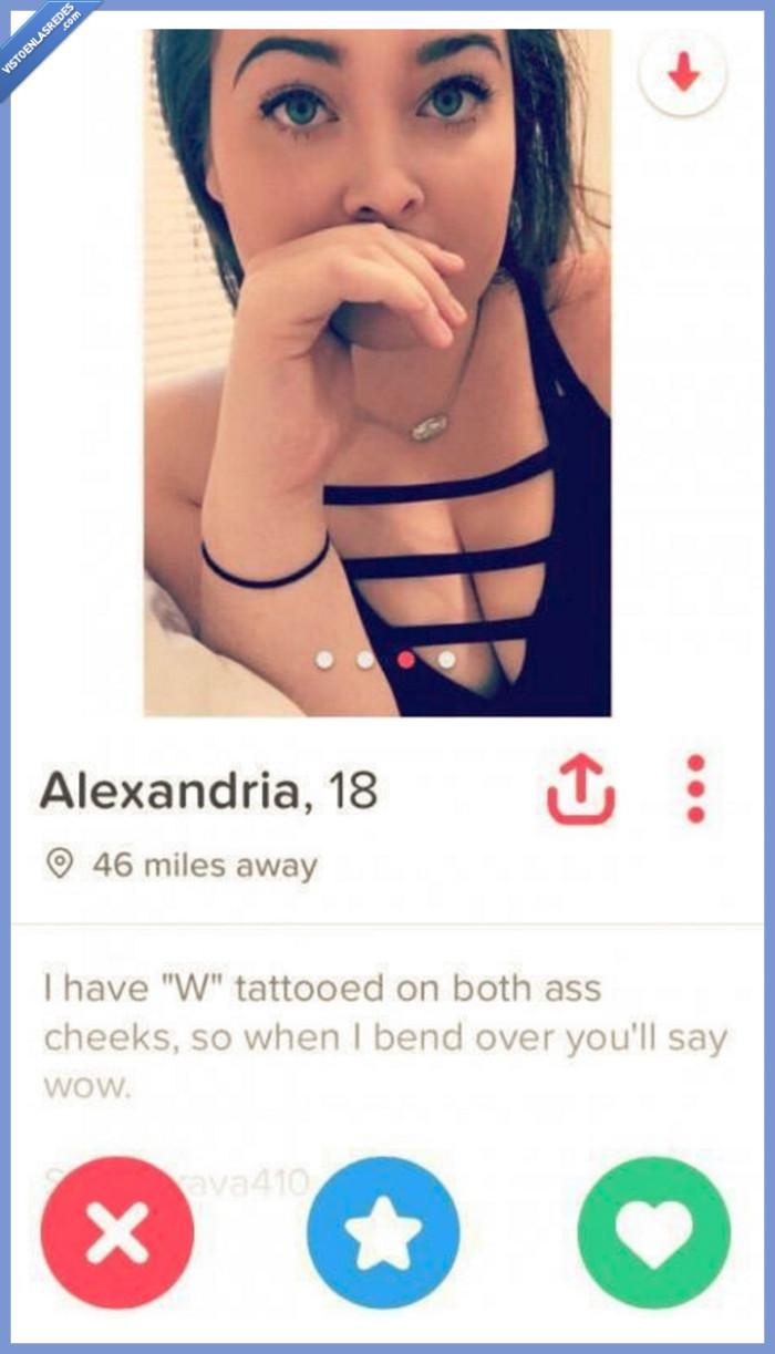 tatuaje,tinder ligar,w,WTF