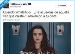 Enlace a Whatsapp, esta es tu cinta, por @X13Razones