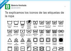 Enlace a La mejor explicación posible para las etiquetas de la ropa, por @bateriailimit