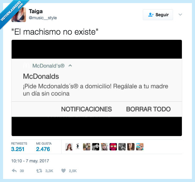 machismo,madre,mcdonalds