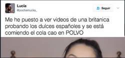 Enlace a Hace un vídeo probando el colacao y la cara que pone es tremenda, por @pochemucka_