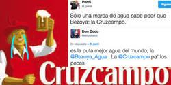 Enlace a Cruzcampo se ofende harto de que se rían de su cerveza, por @eldodoazul