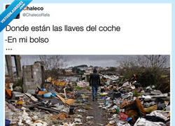 Enlace a Es como el bolsillo de Doraemon, por @ChalecoRafa