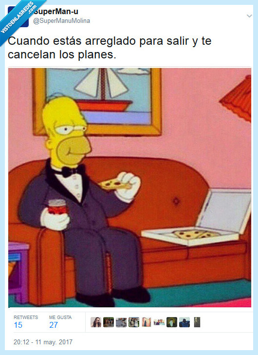 arreglarse,cancelar,homer,los simpsons,plan,traje