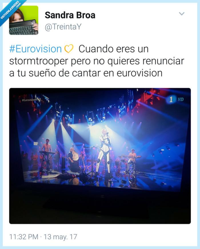 eurovision,Stormtrooper,sueños