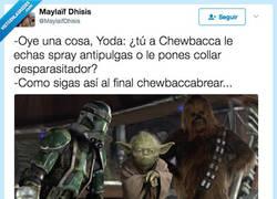 Enlace a Ea ea ea Chewbacca se cabrea, por @MaylaifDhisis