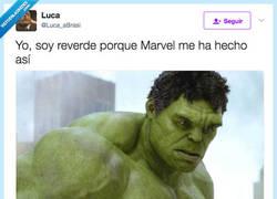 Enlace a El motivo por el que Hulk es verde, por @Luca_aBrasi