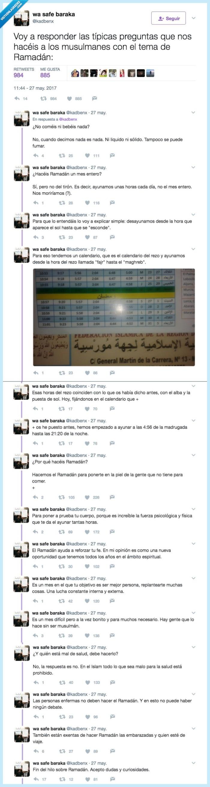 curiosidad,ramadán,tuitera