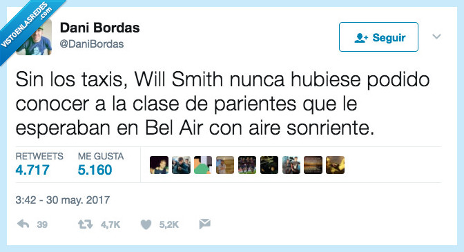 príncipe de bel air,taxis,will smith
