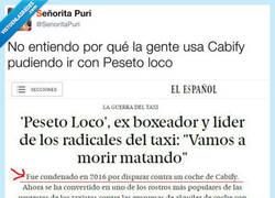 Enlace a La guerra entre Cabify y taxis continua, por @SenoritaPuri