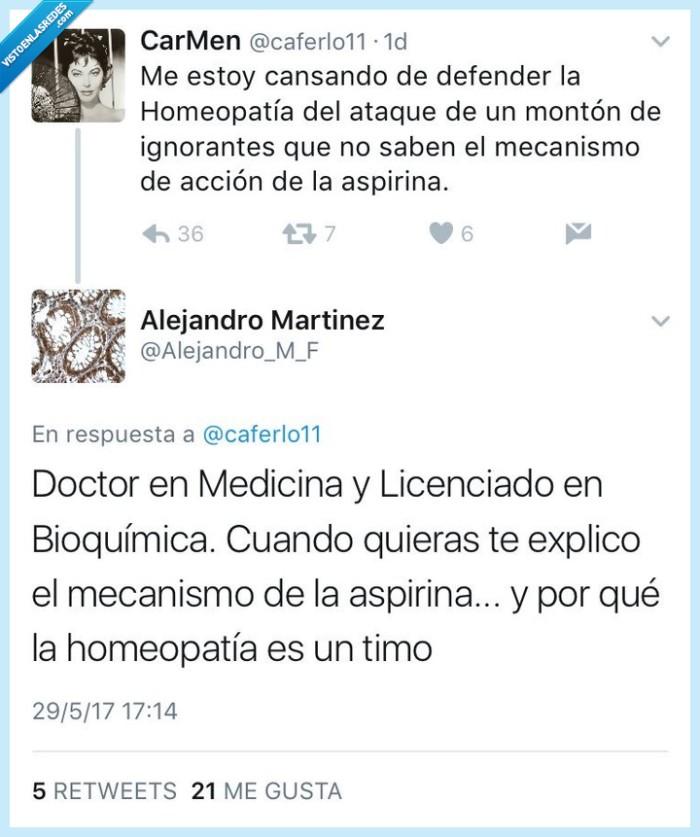 doctor,homeopatía,zasca