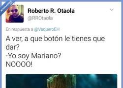 Enlace a La votación de Rajoy da pa mucho meme, por @RROtaola