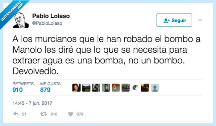 aviso,bombo,Murcia