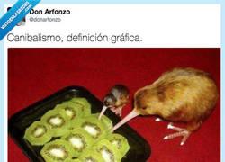 Enlace a Canibalismo del bueno, por @donarfonzo
