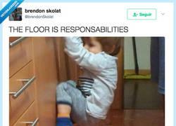 Enlace a El suelo son responsabilidades, por @brendonSkolat