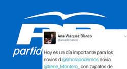 Enlace a Una dipu tada del PP tiene que borrar estos tuits machistas contra Podemos al poco de publicarlos