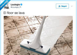 Enlace a The floor se lava un poquito so marrano, por @Loulogio_Pi