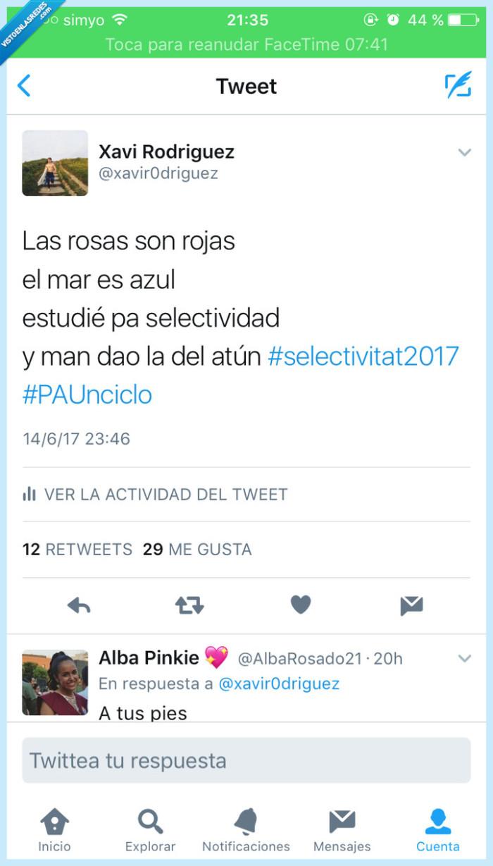 #PAUnciclo,#selectividad